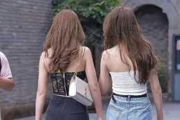 自然隨性的打底褲穿搭更顯大氣時尚感,襯托潮流衣品,貼合身材