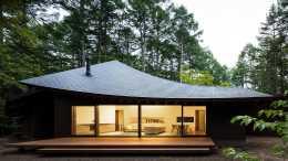 四片如葉片般的曲面屋頂,構築出一個獨特的別墅,詮釋個性