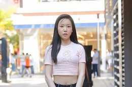 美麗十足的打底褲穿搭端莊有氣質,配出雍容的氣質,清新時尚