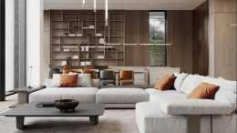 拒絕傳統的老三件, 客廳這樣設計, 才是滿滿的生活智慧