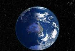 地球重達60萬億億噸,為什麼還能懸浮在太空中?