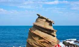 臺灣最神奇的自然景觀,太平洋上長出了冰淇淋,遊客不顧危險拍照