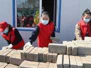 朝陽環境集團青年志願服務隊開展愛心志願服務活動真情溫暖養老中心