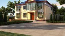 用心為家人建一棟舒適溫馨的二層別墅,完成父母夢寐已久的心願!