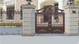 別墅庭院圍牆大門的搭配方法與朝向風水的注意事項