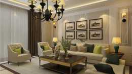 110平米歐式風格裝修,效果真是美透了!越看越舒服的兩居室