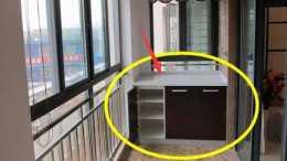 還傻傻地在陽臺設計吊櫃嗎? 看看現在大家都流行這樣做了, 時尚