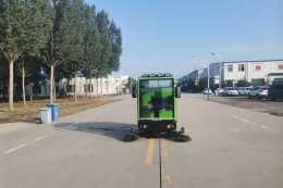 小型道路清掃機使用效果好嗎?