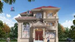朋友圈最火的歐式別墅, 尺寸13×11米