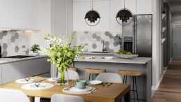 廚房不一定越大越好,在這4個地方下功夫,方便打掃又美觀大方!