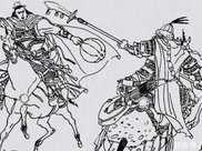 岳家軍祖孫三代英豪:兩鐧四錘六臂狂舞,奮擊山獅駝麾下第一猛虎