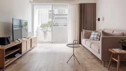 日子越久越喜歡簡約風, 108㎡簡單舒適, 配木質傢俱一片歲月靜好