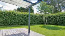 露臺別再封陽光房,物業準來給你拆了,裝自動摺疊的遮陽省空間!