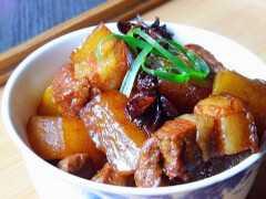 國民家常菜,一定能溫暖你的胃【蘿蔔紅燒肉】