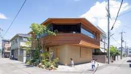 向千遍一律的住宅說不:這個住宅將功能分割槽反轉,猶如漂浮的木屋