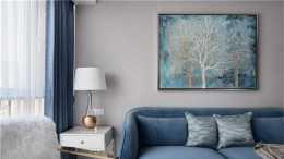 78平北歐風二居室十分優雅和恬靜,不帶有一絲的浮躁