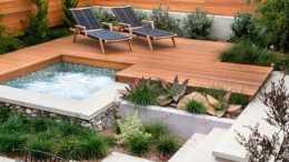 一樓花園設計,我做夢都念叨著能有這麼一個環境,羨慕啊 !