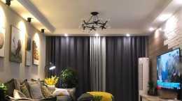 三口之家的北歐風兩居,時尚優雅有情調,主臥飄窗超實用,太香了!