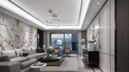199平米高階灰住宅, 色調、材質、燈光搭配, 缺一不可