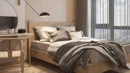 68㎡原木色極簡風裝修特別溫暖,牆面造型設計另類有個性,建議收藏!